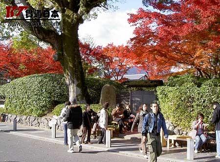 [游记] 日本京都 斑驳红叶间的千年古寺(图)
