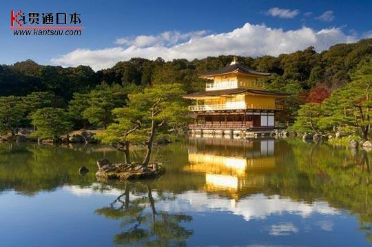 京都最著名的风景名胜地——金阁寺——贯通日本旅游