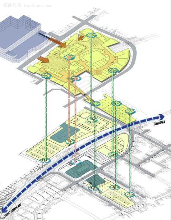 日本东京多摩广场站/ LaguardaLow Architects