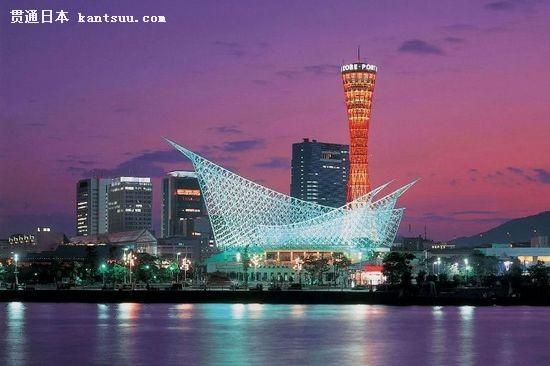漫步在日本浪漫神户 赏明石海峡大桥夜景