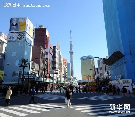 """来东京天空树感受""""云中漫步""""的心跳 (2)"""
