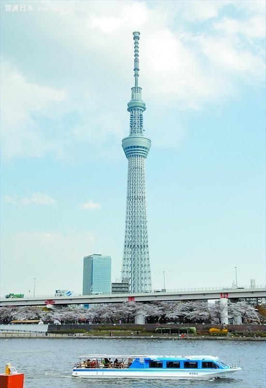 世界最高自立式电波塔东京天空树——贯通日本旅游