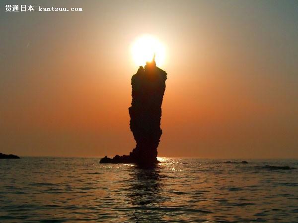 贯通日本 旅游 景点 岛根 >> 正文   蜡烛岛是岛根县境内的隐岐群岛的