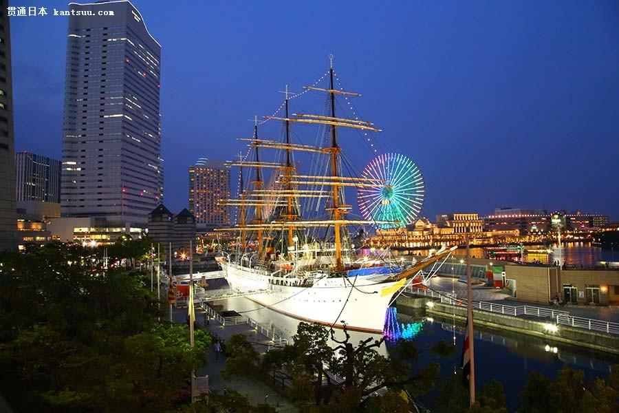 如何让日本旅游浪漫起来?就去横滨看夜景吧