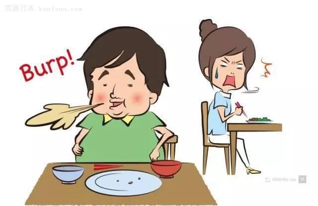 一旁日本人表情尴尬图片