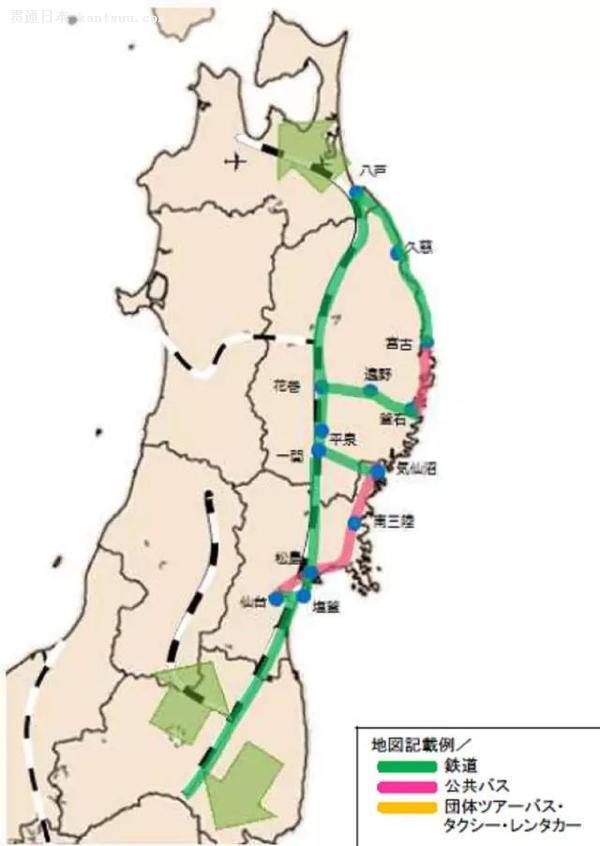 美食之旅:仙台→松岛→南三陆→气仙沼→平泉→花卷温泉→远野→宫古