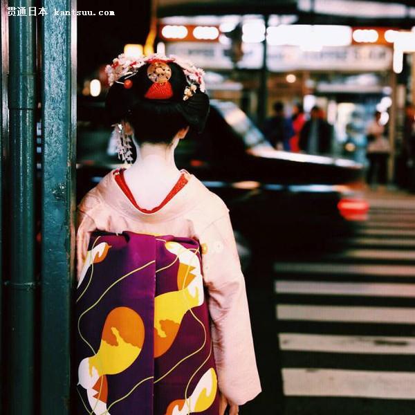 艺妓回忆录 京都的花见小路是邂逅艺妓的好地方.