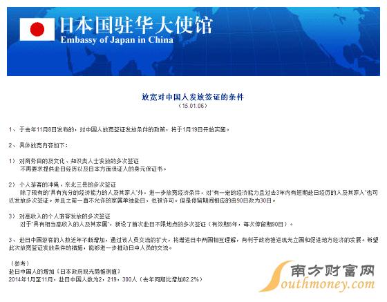 赴日签证最新政策:2016年中国赴日本个人签证最新政策
