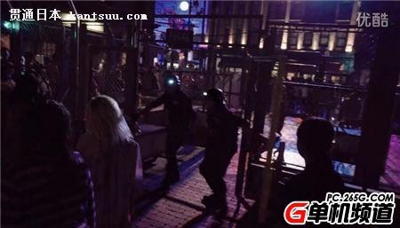 日本大阪环球影城爆发生化危机丧尸横行吓尿路人