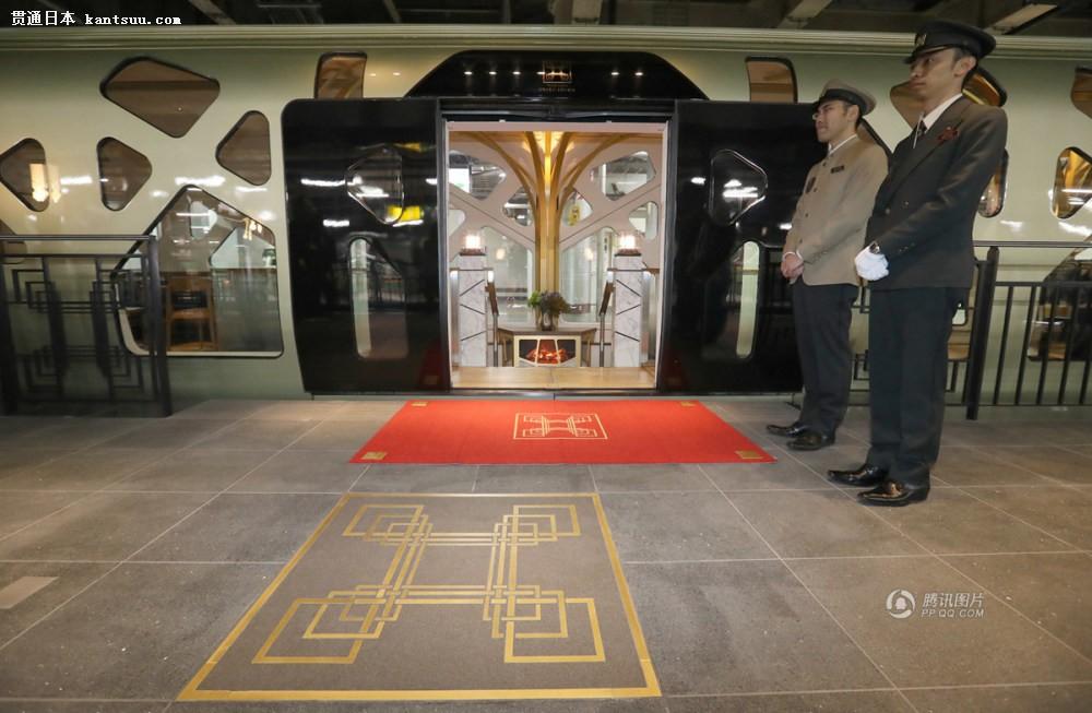 日本这趟卧铺列车 真是厉害了设施齐全且装修豪华如酒店