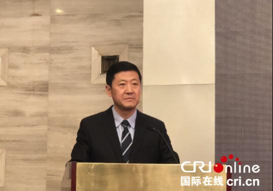 陕西省副省长陈国强致辞 (摄影 王丹)